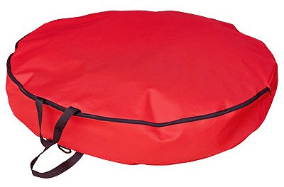 SIMPLE LIVING SOLUTIONS LLC 30'' RED Wreath Stor Bag
