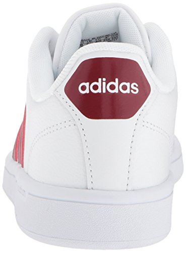 White Collegiate Burgundy Sneaker Women's adidas Cf white Advantage w4p8xq