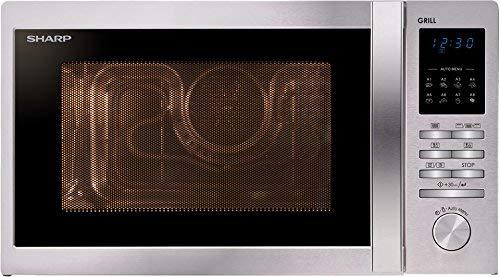 Sharp R-722STWE Encimera 25L 900W Acero inoxidable - Microondas ...
