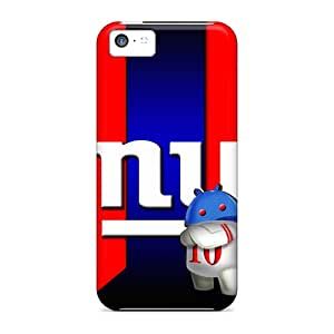 Iphone 5c AuY18072Zpmp Customized Stylish New York Giants Pattern Shock Absorbent Cell-phone Hard Cover -KerryParsons