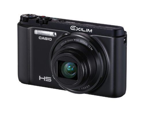 Casio High Speed Exilim Ex-zr1000 Digital Camera Black Ex-zr1000bk - International Version (No Warranty)