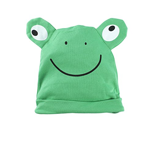 Big Elephant Baby Boys' 1 Piece Frog Long Sleeve Romper with Hat G81