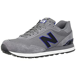 New Balance Men's 515 V1 Sneaker, Gunmetal/Team Royal, 18 D US