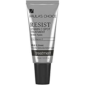 Paula's Choice RESIST 25% Vitamin C Ascorbic Acid Spot Treatment for Uneven Skin Tone - 0.5 oz