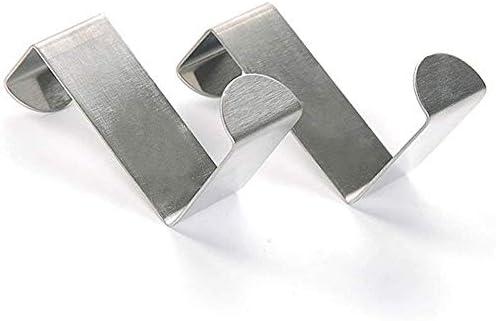 Amazon.com: Perchero de acero inoxidable para colgar sobre ...