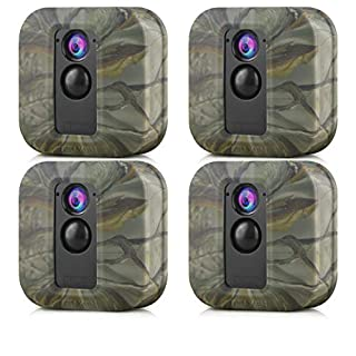 Blink XT/XT2 Skin, Indoor/Outdoor Silicone Skins Protective Case Cover for Blink XT/XT2 Security Camera, Compatible for Blink XT/XT2 Accessories (4-Pack, Camouflage)