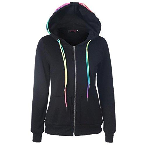 Zippered Womens Sweatshirt - 8
