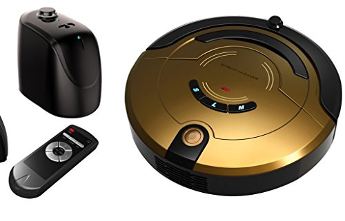 Home sweeping robots, smart Sweeper and vacuum cleaner , gold