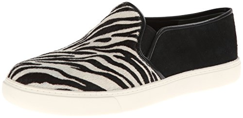 Cole Haan Women's Bowie Slip-On Fashion Sneaker,Zebra Print Haircalf/Black Suede,10 B US (Cole Haan Animal Print Shoes compare prices)