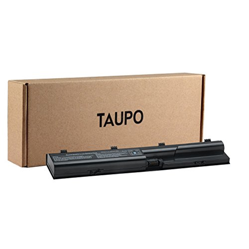TAUPO New Laptop Battery Replacement for HP Probook 4530s 4540s 4535s 4440s 4430s 4330s 4431s 4435s 4331s Series, fits P/N PR06 PR09 633805-001 633733-321 QK646UT HSTNN-IB2R by TAUPO