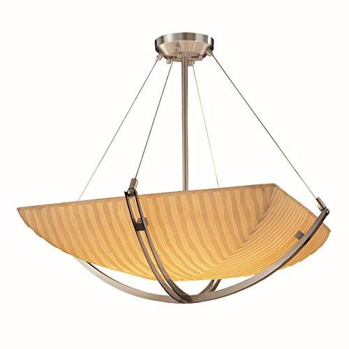 Justice Design Group Lighting PNA-9721-25-WFAL-NCKL-LED3-3000 Porcelina-Crossbar 22