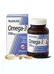 Omega 3 30 cápsulas de 750 mg de Health Aid