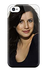KIpORls14547KdViN Tpu Case Skin Protector For Iphone 4/4s Emma Roberts?wallpaper With Nice Appearance