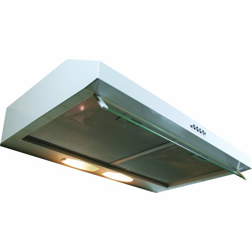 - Yosemite Home Decor BWRD30W Builder Series 30-Inch Undercabinet Hood with 190 CFM Internal Blower and Incandescent Lighting, White