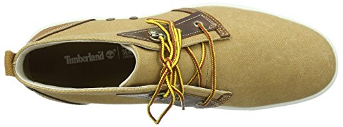 Timberland Men's Amherst Chukka Fashion Sneaker, Brown, 9 M US