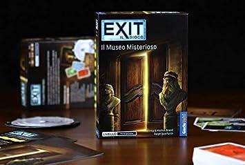 Giochi Uniti Exit - Il Museo Misterioso - Board Game in Italian: Amazon.es: Juguetes y juegos