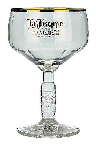 La Trappe Trappist Belgian Beer Chalice Glass