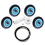 Dryer Repair Kit Replacement for Samsung Dryer Belt Maintenance Kit - Include DC97-16782A Roller DC93-00634A Indler Pulley 6602-001655 Belt Replace AP5325135 AP4373659 AP6038887 PS4221885 PS4133825
