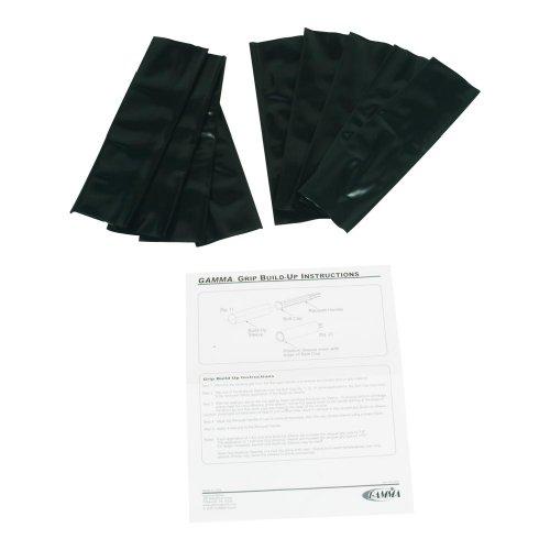 Gamma Grip Buildup Sleeves, Black, Full 1/8-Inch