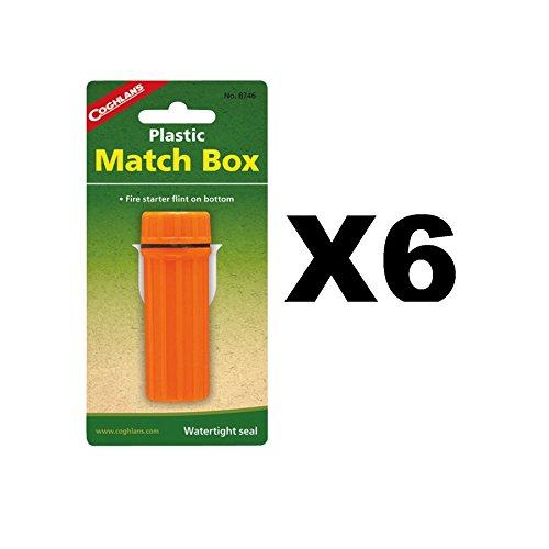 Coghlans 8746 Plastic Match Box by Coghlan's