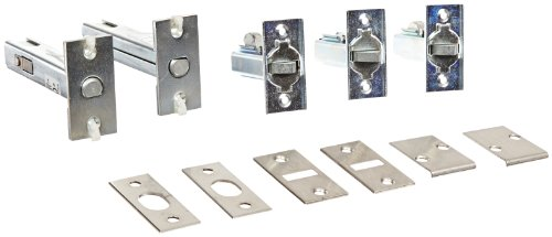 (Rockwood 2962.26D Automatic Flush Bolt Set for Fire Rated Wood Core & Composite Doors, 1-1/8