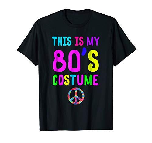 ume Funny 80s Party Retro Neon Gift Tee ()