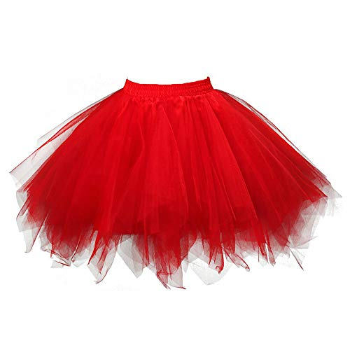 Womens Pleated Gauze Skirt,Short Skirt Adult Tutu Dancing Skirt,Sunsee New