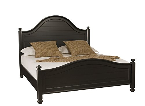 American Drew Camden Black Queen Panel - Drew American Bed