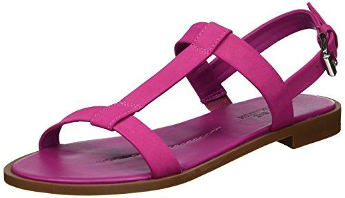 Shoe Biz Damen Sandal Plateau Pink (nubuk Fuchsia)