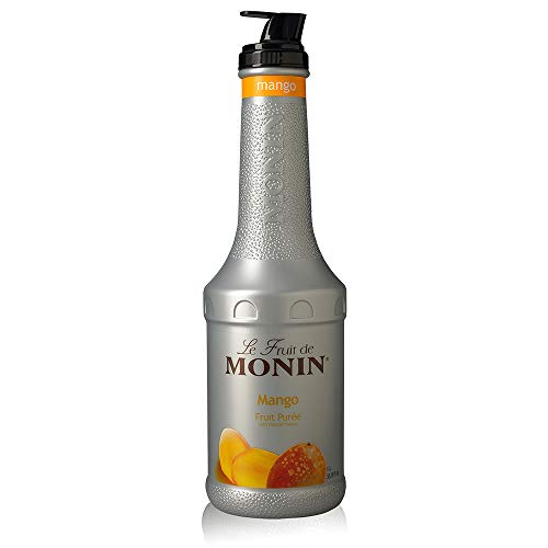 (Monin - Mango Purée, Tropical and Sweet Mango Flavor, Natural Flavors, Great for Teas, Lemonades, Smoothies, and Cocktails, Vegan, Non-GMO, Gluten-Free (1)