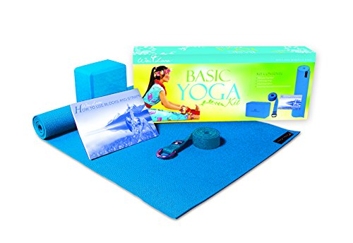 Kit Foam Yoga Lana Wai (Wai Lana Kits: Basic Yoga Kit, Blue)