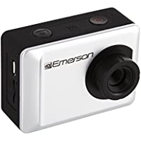 Emerson EVC655SL 1080P HD Action Cam, 2 Display, 12 megapixel