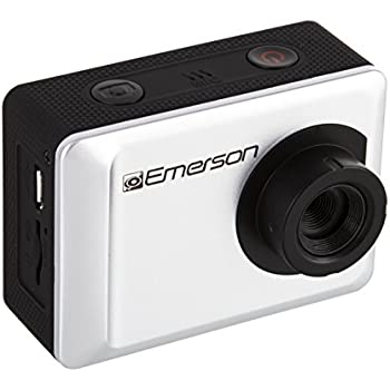 "Emerson EVC655SL 1080P HD Action Cam, 2"" Display, 12 megapixel"
