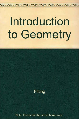 Student's Solutions Manual to Accompany Introduction to Geometry