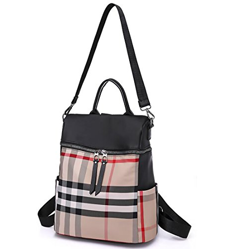 pu 13 Soft Bag 30cm Handbag Multi Casual 25 function Backpack Fashion Women's Leather C4qwz4U
