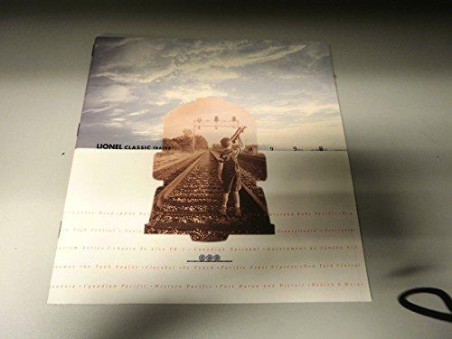 LIONEL CLASSIC TRAINS CATALOG 1998 FULL COLOR BRAND NEW .HN#GG_634T6344 - Classic Lionel Catalog