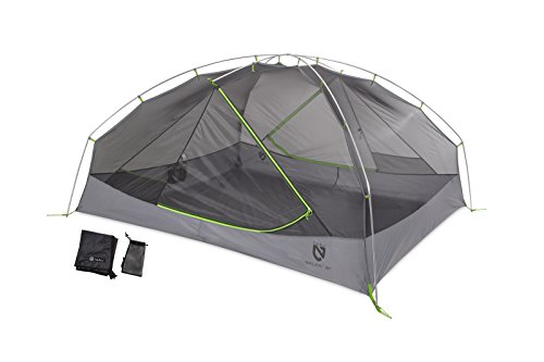 Nemo Galaxi 3 Person Backpacking Tent with Footprint - One Size - Birch Leaf Green
