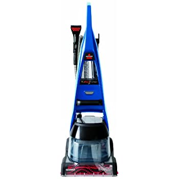 Image of Home and Kitchen Bissell 47A23 Proheat 2x Premier Full-Size Carpet Cleaner, Blue