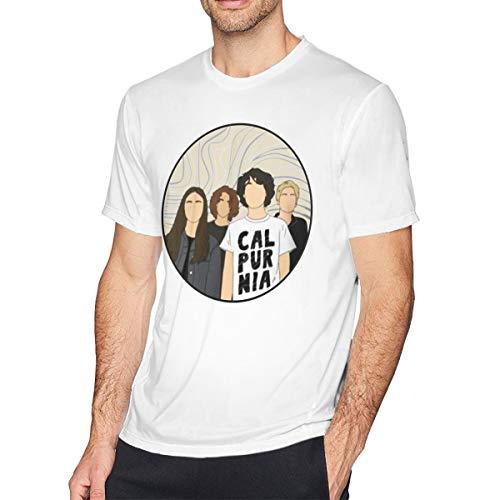 ZAZAHUI Calpurnia Shirt Fashion Short Sleeved T-Shirt Casual T-Shirt White