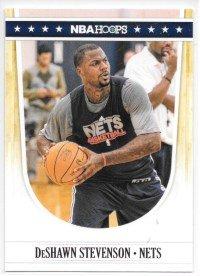 DeShawn Stevenson 2011-12 NBA Hoops New Jersey Nets Card #46