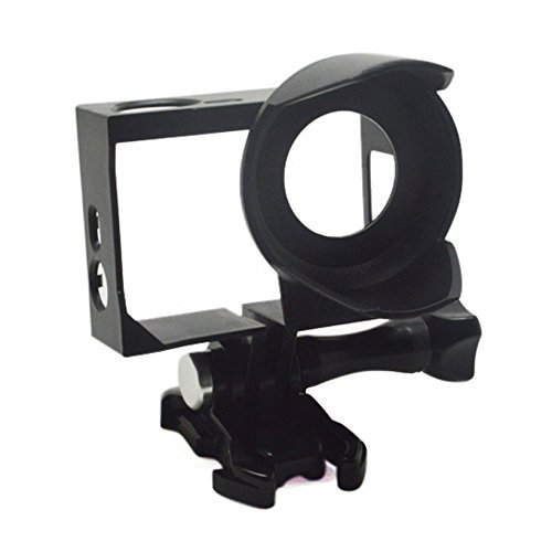 Standard Protective Frame with Lens Hood For GoPro Hero 4 3 3+ - 1
