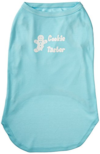 Mirage Pet Products 20-Inch Cookie Taster Screen Print Shirts for Pets, 3X-Large, Aqua (Halloween Costume Winners)