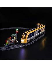LED Verlichting Kit voor Lego 60197 City Passagierstrein Collectors Model (Niet Inbegrepen Lego-Model)