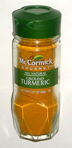McCormick Gourmet All Natural Ground Turmeric, 1.37 oz by McCormick