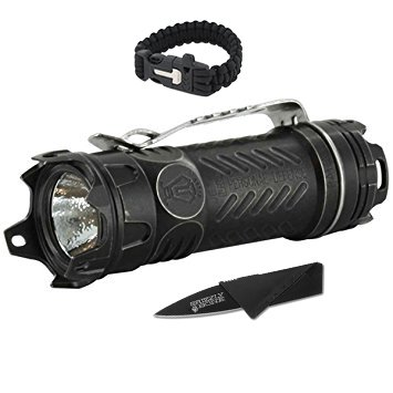 NEW-Combo-Pack-Bright-Jetbeam-Jet-II-Pro-Titanium-Black-Tactical-Ultimate-Flashlight-For-Zombie-Apocalypse-Camping-Power-Outage-Survival-Kit-W-Free-Paracord-Bracelet-Credit-Card-Knife-Survival-Life