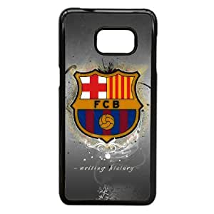 Samsung Galaxy S6 Edge Plus Phone Case Printed With Barcelona Logo Images