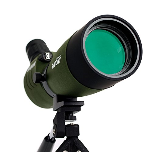 41ErEOltH2L - SVBONY 20-60x60/25-75x70mm Shooting Spotting Scope Bak4 Prism Spotting Scope Telescope IP65 Waterproof FMC Optical Lens with Tripod and Phone Adapter