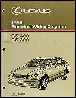1998 lexus gs 300/400 wiring diagram manual original: lexus: amazon.com:  books  amazon