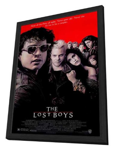 The Lost Boys - 27 x 40 Framed Movie Poster