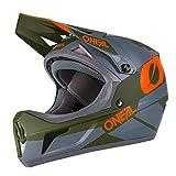 O'Neal Sonus Deft Mountain Bike Helmet Olive/Orange